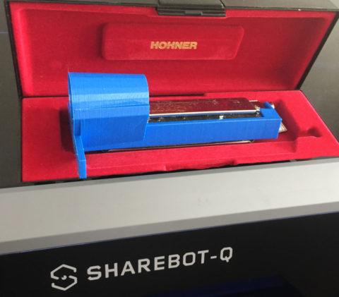 supporto armonica hohler da stampa 3d sharebot