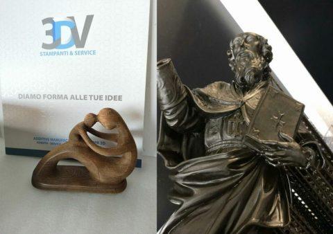 Statue con stampa 3D